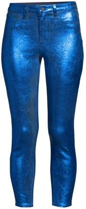 L'Agence Margot Metallic Jeans