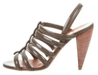 Lanvin Caged Slingback Sandals