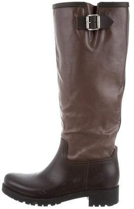 MM6 MAISON MARGIELA MM6 Maison Martin Margiela Leather Knee-High Boots