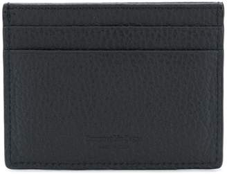 Ermenegildo Zegna grained card holder