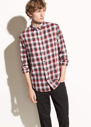 Shadow Plaid Long Sleeve