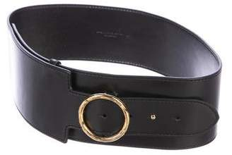 Stella McCartney Vegan Leather Wide Belt