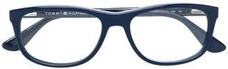 Tommy Hilfiger rectangular glasses