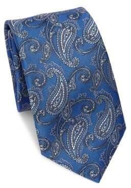 Saks Fifth Avenue COLLECTION Paisley Silk Tie