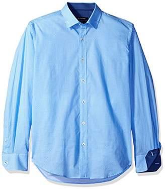 Bugatchi Men's Small Dot Button Down Shirt