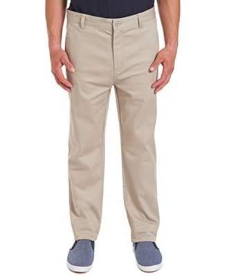 Chaps Uniform Young Men's Flat Front Pant Pants
