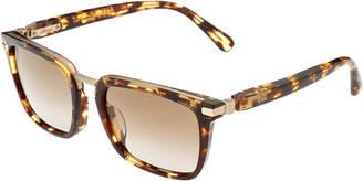 Brioni Men's Br0005sa 56Mm Polarized Sunglasses