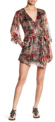 Love Sam Pop Garden Surplice Skort Romper