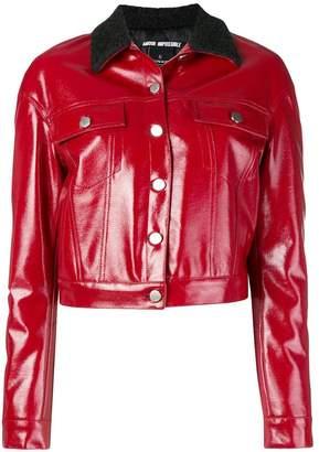 Pinko contrasting collar jacket