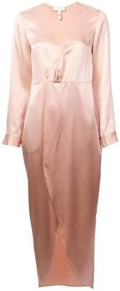 Fleur Du Mal plunging wrap-around dress