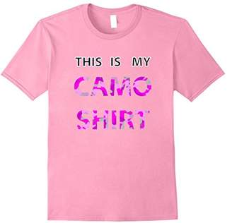 This Is My CAMO Tshirt Funny Camo Pattern T-Shirt