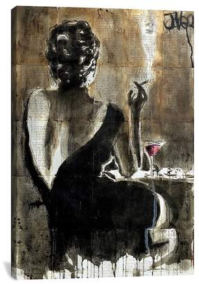 """Cocktail by Loui Jover Canvas Print - 18\""""x12\"""""""