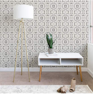 Deny Designs Holli Zollinger MANDALA TILE LIGHT wallpaper