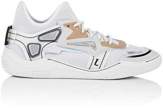 Lanvin Men's Mixed-Fabric Sneakers