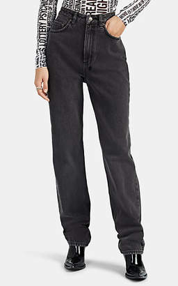 Ksubi Women's Playback High-Rise Straight Jeans - Gray