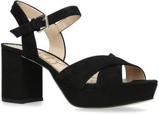 Sam Edelman Suede Jolene Platform Sandals 80