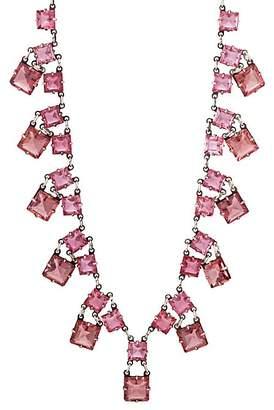 Loren Stazia Women's Diamanté Circular-Link Necklace