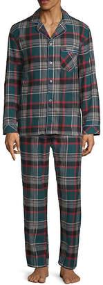 STAFFORD Stafford Flannel Pajama Set - Big and Tall