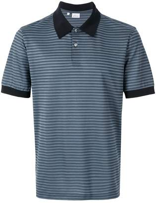 Brioni striped polo shirt