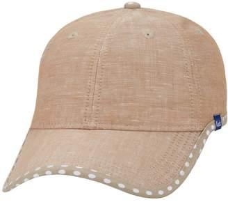 Keds Women's Chambray Dotted Brim Baseball Hat
