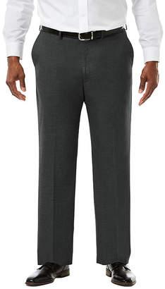 Haggar JM Premium Stretch Sharkskin Classic Fit Flat Front Suit Pants - Big & Tall