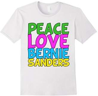 Peace Love Bernie Sanders T-Shirt