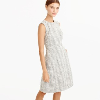 Petite A-line dress in shimmer tweed $168 thestylecure.com
