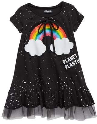 Plastic Jus Rainbow Bow Dress