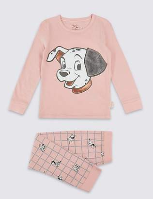 Marks and Spencer Disney CharactersTM Pure Cotton Pyjamas (2-10 Years)