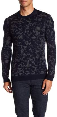 Ted Baker Interest Jacquard Crew Neck