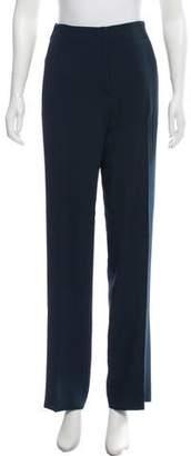 Cédric Charlier High-Rise Wide-Leg Pants