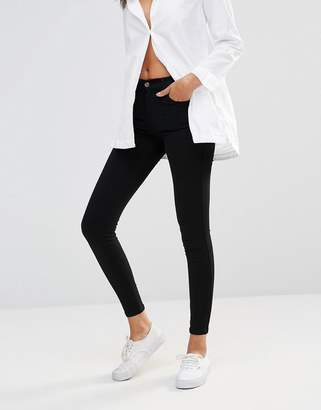 Dr. Denim Lexy mid rise second skin superskinny jeans