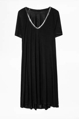 Zadig & Voltaire Jane Foil Dress