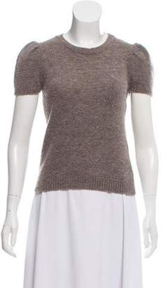 Golden Goose Silk-Cashmere-Blend Patch-Pocket Top