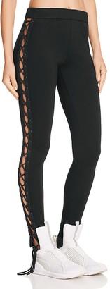 FENTY Puma x Rihanna Lace-Up Leggings $120 thestylecure.com