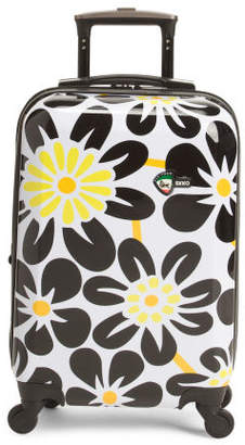 20in Ekko Floral Hardside Carry-on