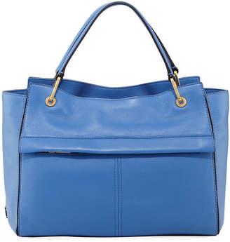 Cole Haan Kathlyn Leather Zip-Top Satchel Bag