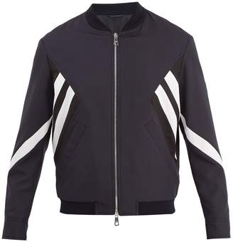 Neil Barrett Modernist bomber jacket