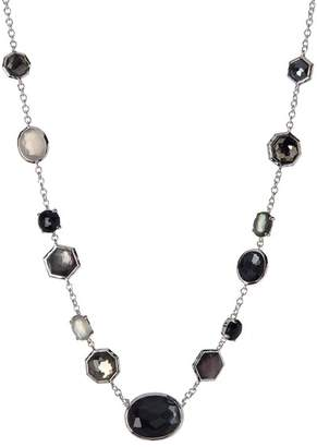 Ippolita Sterling Silver Rock Candy Mixed Semi-Precious Stone Necklace