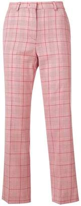 RED Valentino check cropped trousers
