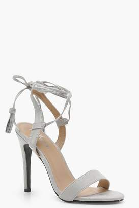 boohoo Wrap Strap Detail Barely There Sandals