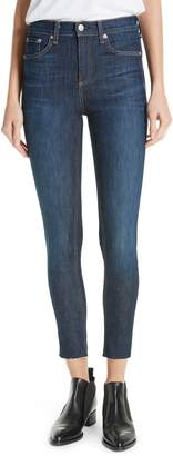 Rag & Bone High Waist Skinny Ankle Jeans