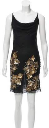 John Richmond Mini Sleeveless Dress