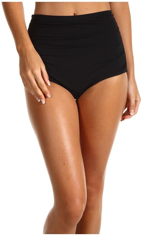 GUESS On The Prowl High Waist Brief (Black) Women's Swimwear