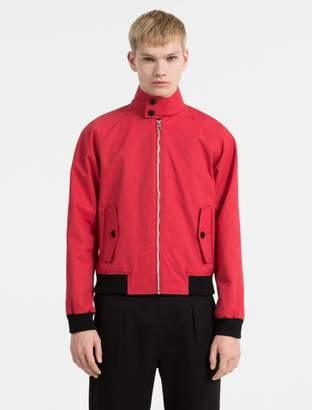 Calvin Klein coated cotton jacket