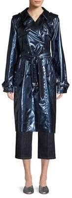 Marc Jacobs Metallic Trench Coat