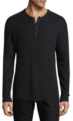 Vince Long Sleeve Henley Top