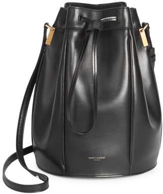 a1ee6b260 Saint Laurent Black Calfskin Leather Bags For Women - ShopStyle UK