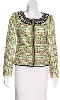 Matthew Williamson Embellished Tweed Jacket w/ Tags