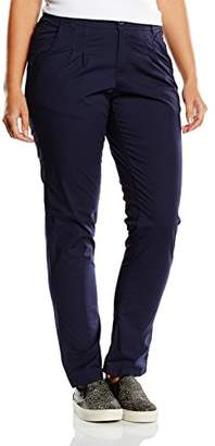 Sheego Women's Chino Trousers - Blue - (Manufacturer Size: 42)